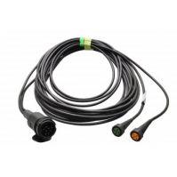 Aspöck kabelset 13- polig 7mtr (2x bajonet 5-polig)