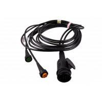 Aspöck kabelset 13- polig 4mtr (2x bajonet 5-polig)
