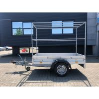 HUMBAUR Enkel-as bakwagen 205x110cm 750kg geremd (2010)