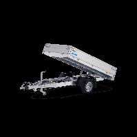 HAPERT COBALT HB-1 1800KG 260x150cm elektrisch achterwaarts