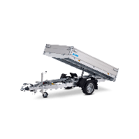 HAPERT COBALT HB-1 1350KG 260x150cm elektrisch achterwaarts