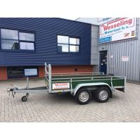 Tandem- as bakwagen 300x150cm 2000KG huren