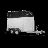 HUMBAUR Single Alu 1600 met zadelkamer