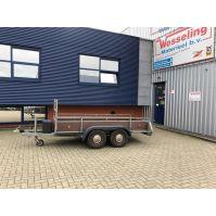 ANSSEMS tandem- as bakwagen 300x130cm 2.000kg (1985)