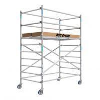 ASC rolsteiger 135x250 WH4.20m houten platform (2x)