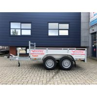Tandem- as bakwagen 250x130cm 2.500kg huren