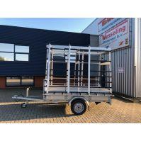 Anssems BSX Glasresteel aanhangwagen 251x130cm 750kg