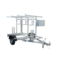BASIC CARRIER 380x204x196cm 750kg (niet afsluitbaar)