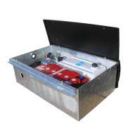 Pomp- en accubak, inclusief elektrische pomp en accu