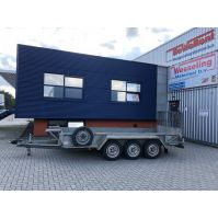 IFor Williams Machinetransporter 430x178cm 3.500kg (2010)