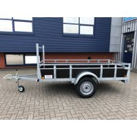 ROVA enkel- as bakwagen 258x131cm 750kg