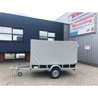 ROVA enkel- as bakwagen 258x131x150cm 750kg