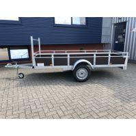 ROVA enkel- as bakwagen 307x131cm 750kg