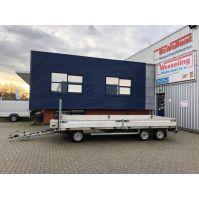 HENRA schamelwagen 500x200cm 3.500kg met oprijplaten (2008)