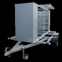 X CARRIER 390x195x180cm 750kg (afsluitbaar)